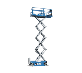 SCISSOR LIFT-26' 2WD NARROW ELECTRIC - Sunstate Equipment
