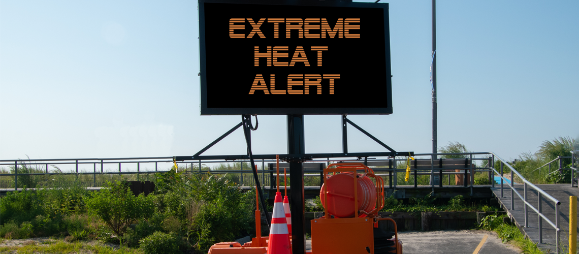 Construction in Extreme Heat